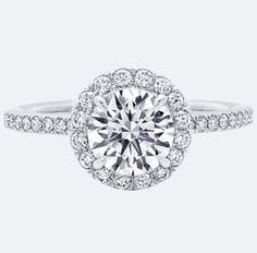 Gorgeous Harry Winston    http://www.harrywinston.com/en/one-round-brilliant-diamond-micropav%C3%A9-engagement-ring
