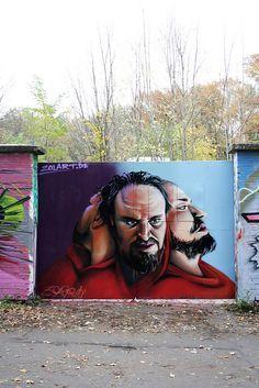 Graffiti Portraits by Zolar www.zolart.de