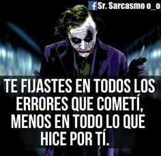 Arts And Crafts Festival Code: 7619605780 Joker Frases, Joker Quotes, Wife Quotes, Words Quotes, Sayings, Bard Pitt, Fight For Your Dreams, Quotes En Espanol, Joker And Harley Quinn