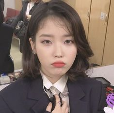 K Pop, Korean Girl, Asian Girl, Iu Twitter, Uzzlang Girl, Jennie Lisa, Iu Fashion, Cute Icons, Kpop Aesthetic