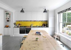 http://www.dezeen.com/2014/04/15/greenwood-road-hackney-townhouse-renovation-kilburn-nightingale-architects/    Kilburn Nightingale remodels Hackney townhouse and adds sweet-chestnut joinery