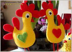 Montownia Ody: Jak uszyć kurczaka z filcu?
