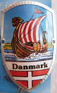 Denmark Danmark New Badge Mount stocknagel Hiking Medallion G9821 | eBay