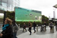 "Love this ""feed the pig"" charity campaign by @elviscomms with @OceanOutdoorUK #DOOH"