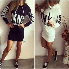 Winter Autumn Dress Vestidos Plus Size Women Clothing 2016 Casual Cotton Print Dress Hoodies Slim Bodycon Dress Party Dresses-in Dresses from Women's Clothing & Accessories on Aliexpress.com | Alibaba Group