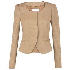 L.K. Bennett Marsi Cotton Blend Jacket, Caramel - L.K.Bennett - Polyvore
