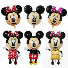Cheap decoration for baby shower, Buy Quality decorating ideas bridal shower directly from China shower head with light Suppliers: 6pcs Mickey Minnie mouse Cartoon paper hat Kids Birthday Party Decoration Mickey theme party suppliesUSD 6.99/lot1Pcs  M