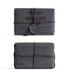 Packaging Design for 'Hudson Made: Worker's Soap' by Hovard Design