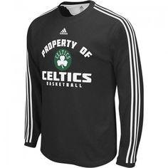 #celtics   adidas Celtics Preferred Property 3-Stripe Thermal