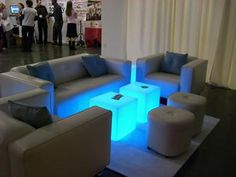 Party Ideas, Glowing Cocktail Table Would be cool for teen night stands.