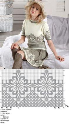 Knitting Baby Pullover Fair Isles 41 Ideas For 2020 - Diy Crafts - hadido Fair Isle Knitting Patterns, Knitting Machine Patterns, Knitting Paterns, Knitting Charts, Lace Knitting, Knitting Stitches, Knitting Designs, Knit Patterns, Skirt Knitting Pattern