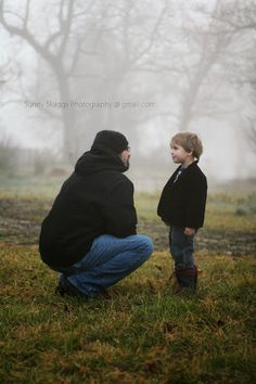 Be still my heart! My love of this picture might have something to with my love of the people in it, but oh my with the expressions and the fog! Sunny Skaggs Photography