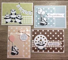 Bonjour à toutes , hier vous avez découvert dans la vidéo le set de tampons Pandas festifs J'espère qu'ils vous plaisent et que vous aurez hâte de les avoir en cadeau avec Sale-a-b…