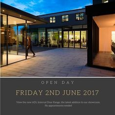 Visit our showroom Friday 2nd June with NO appointments needed to view our brand-new range of ADL Internal Doors. See you there! #amersham #showroom #internaldoors #open #day #dontmissout