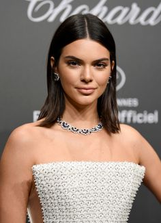 Kendall Jenner's Flat-Ironed Perfection