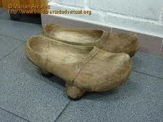 Madreñas - typical footwear in mountain areas of Asturias