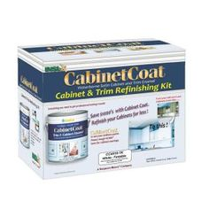 Insl-X Cabinet Coat 1-gal. Kit Includes White Trim and Cabinet Enamel with Applicators Sandpaper and Tack Cloth-CC4510G99-1K at The Home Dep...