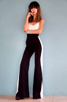Love Disco Women S High Waisted Disco Sequin Flared Bell