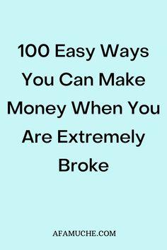 Make Money Fast, Make Money Blogging, Make Money From Home, Make Money Online, Saving Money, Making Money Teens, Self Improvement Tips, Budgeting Finances, Financial Tips