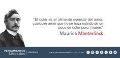 Maurice Maeterlinck. Sobre el amor.