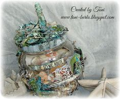 How to Decorate Your Craft Supply Containers