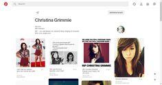 Pinterest • The world's catalog of ideas Christina Grimmie, Singing, Catalog, Love You, Makeup, Ideas, Make Up, Te Amo, Je T'aime