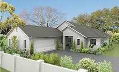 motueka 4 bedroom house design landmark homes builders nz - House Plans Landmark Homes New Zealand