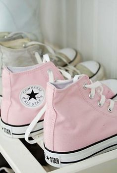 Pink converse all Pink Shoes under $40 #cheap #converse #Sneakers
