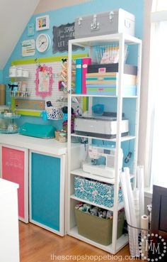 Cheap Craft Room Storage Cabinets Shelves Ideas 15