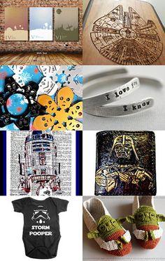 Star Wars LUV by Cheryl Humphreys on Etsy--Pinned with TreasuryPin.com