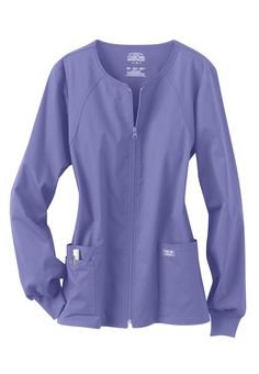 Cherokee Workwear Core Stretch scrub jacket. Main Image