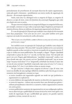 Página 208  Pressione a tecla A para ler o texto da página