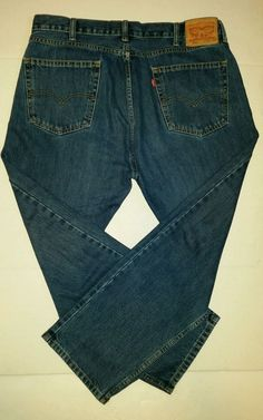 Mens Levi's 505 Jeans Size 40 X 30 Straight Fit | Levis, Fit and Blue