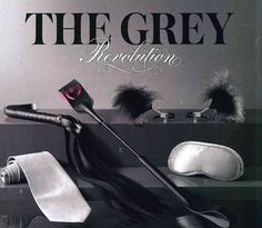 The Grey Revolution #fiftyshades #prbymeghan www.prbymeghan.com