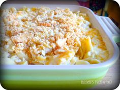 Easy Cheesy Chicken Casserole made with pasta, cheese and chicken. Your entire family will love this simple meal with amazing flavor!
