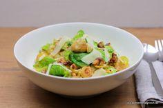 Nachgekocht: Pasta mit Rosenkohl, Maronen und Walnüssen