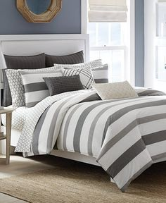 Nautica Chatfield Comforter and Duvet Cover Sets - Bedding Collections - Bed & Bath - Macy's
