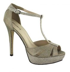Menbur Champagne High Heeled Sandal, is a perfect sparkly companion to your New Year's Eve party dress! #fashion #style #love #jewelry #beauty #shoes #Deals #me #vintage #NewYear #Christmas #gift #happy #HappyNewYear #love #fun #dance #costume #dancer #accessories #fashion #women #gifts #jewelry #accesorios #handmade #moda #style #Necklace