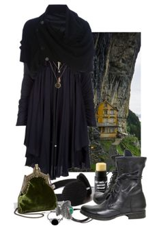 Meet me in the valley, witch fashion board Witch Fashion, Gothic Fashion, Bohemian Fashion, Mode Style, Style Me, Mode Mori, Mori Girl Fashion, Fashion Women, Witch Outfit