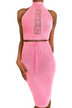 noorvana — Priestess Crochet Outfits, Crochet Pants, Crochet Shirt, Crochet Clothes, Knit Crochet, Complete Outfits, Crochet Fashion, Crochet Stitches, Knit Dress