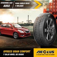 STEERING ACE AU02, diseñado para automóviles de alta gama. #llantas #Aeolus