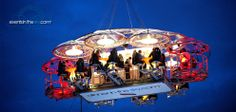 """""""Dinner in the sky"""" - this would be an unforgettable experience!"""