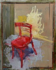 "Saatchi Art Artist christos tsimaris; Painting, ""red chair"""