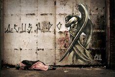 street art Beautiful in a sad way.