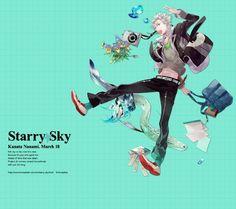 Starry Sky: Birthday of Kanata Nanami (18. Mar. 20 Seiko