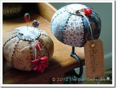 A Vintage Pincushion pattern