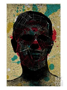 Spiderweb Giclee Print by Zach Hobbs at Art.com, art, artists, artwork, concert…