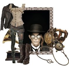Love this steampunk style!