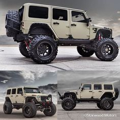 Beautiful build by I'd totally be interested in taking this wheeling to see how it handles. Jeep Jku, Jeep Rubicon, Jeep Wrangler Unlimited, Suv Cars, Jeep Cars, Jeep Truck, Badass Jeep, Offroader, Custom Jeep