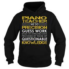 Piano Teacher Job Title T-Shirts, Hoodies, Sweaters